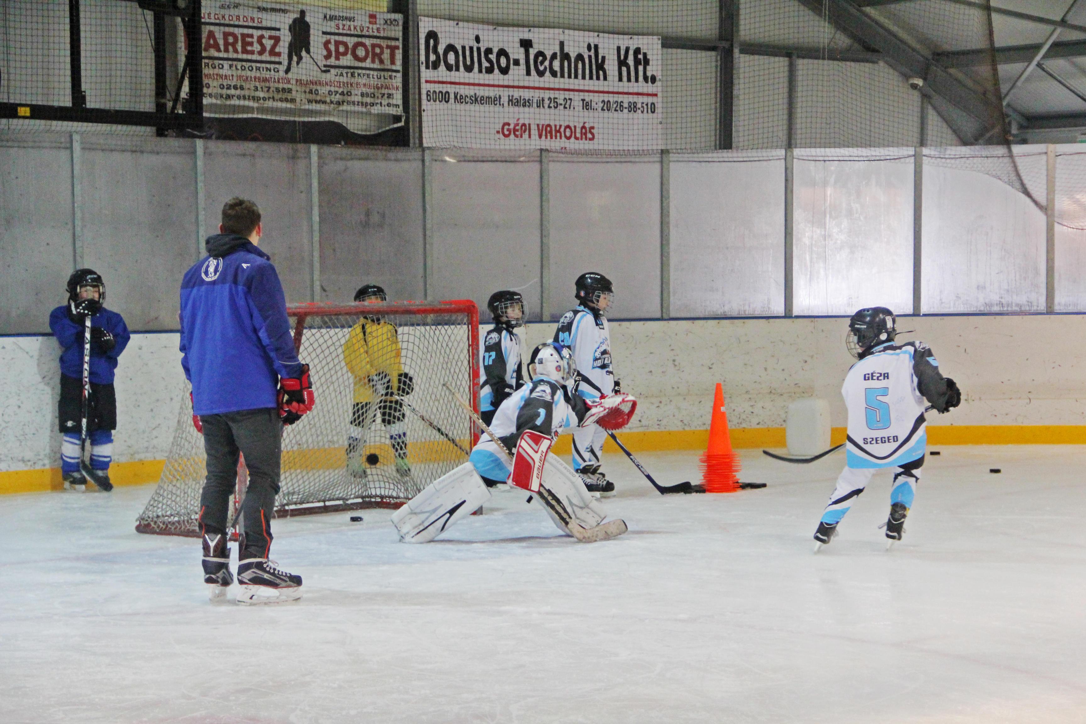 U8-U10 utolsó kiskőrösi jeges edzések